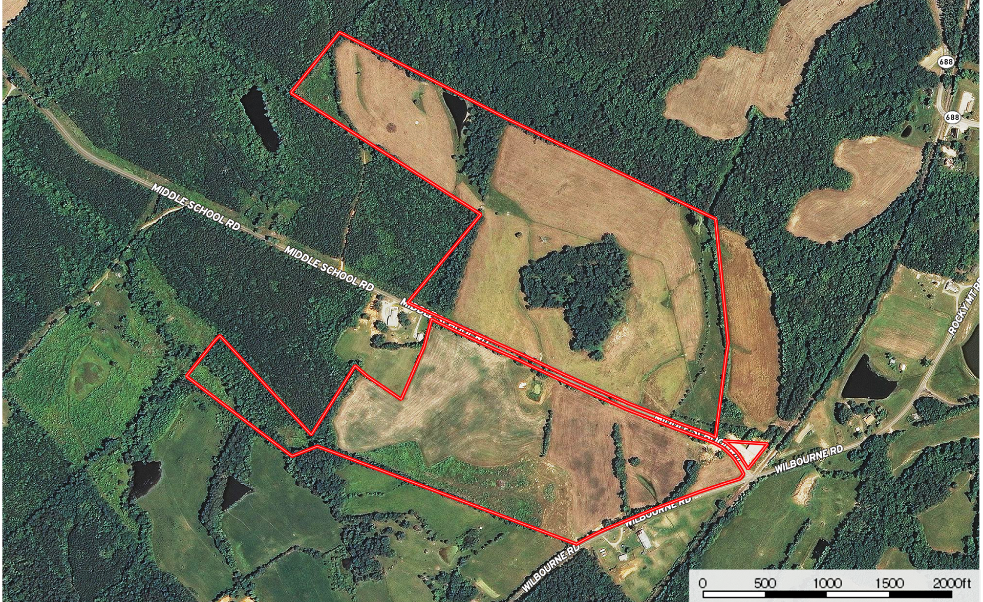 130 Acres of Land In Southern VA