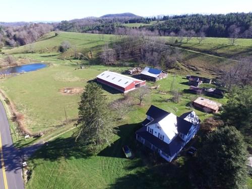 Historic farm on 33+ ac near Wytheville, VA