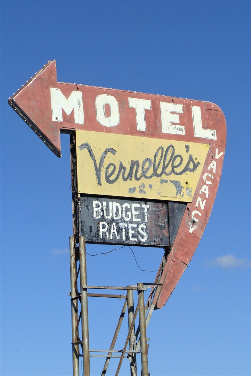 Route 66 Motel and homes