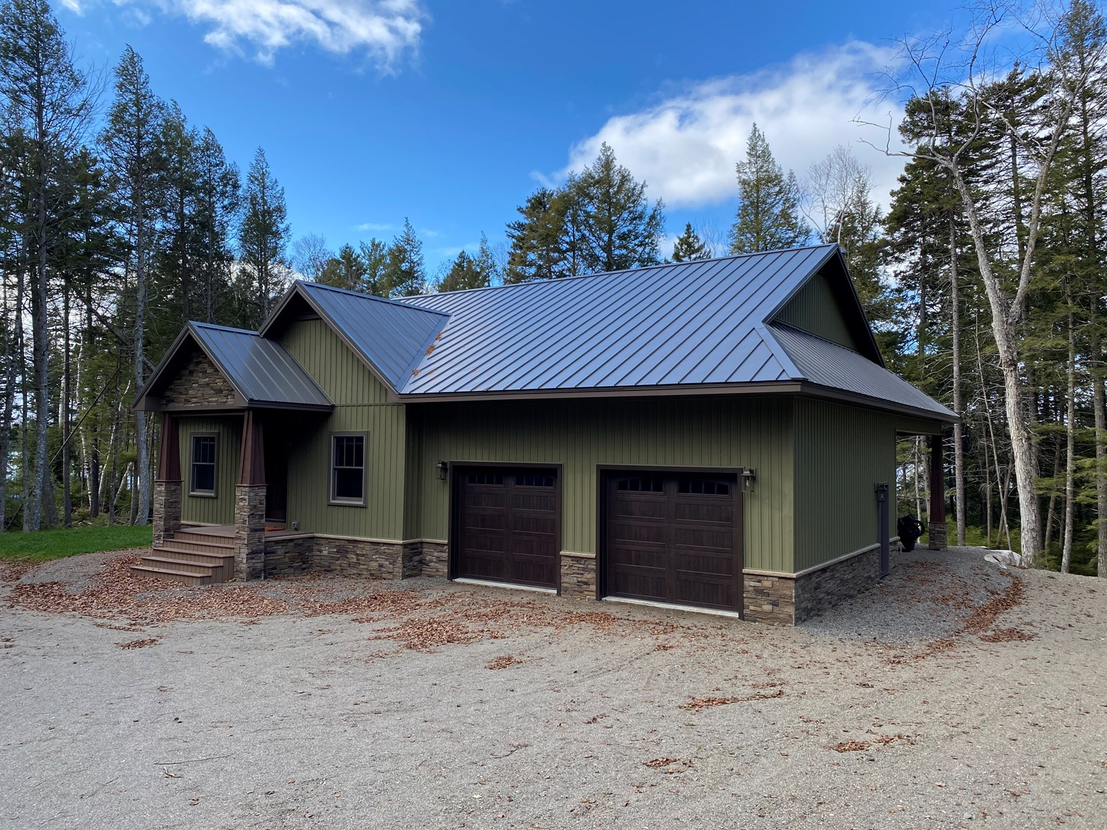 Lakefront Home For Sale in Maine