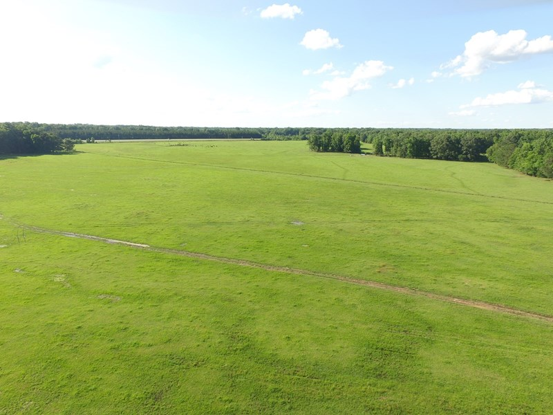 ranch pasture in central arkansas