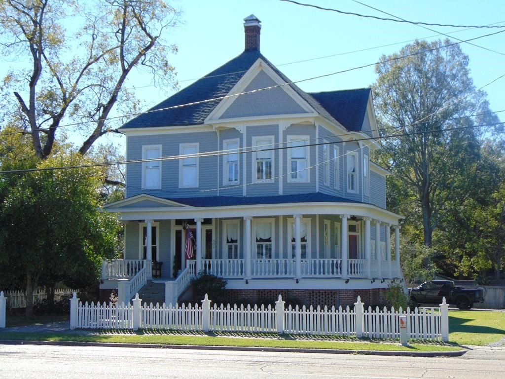 Historic Home For Sale Crystal Springs Copiah County MS