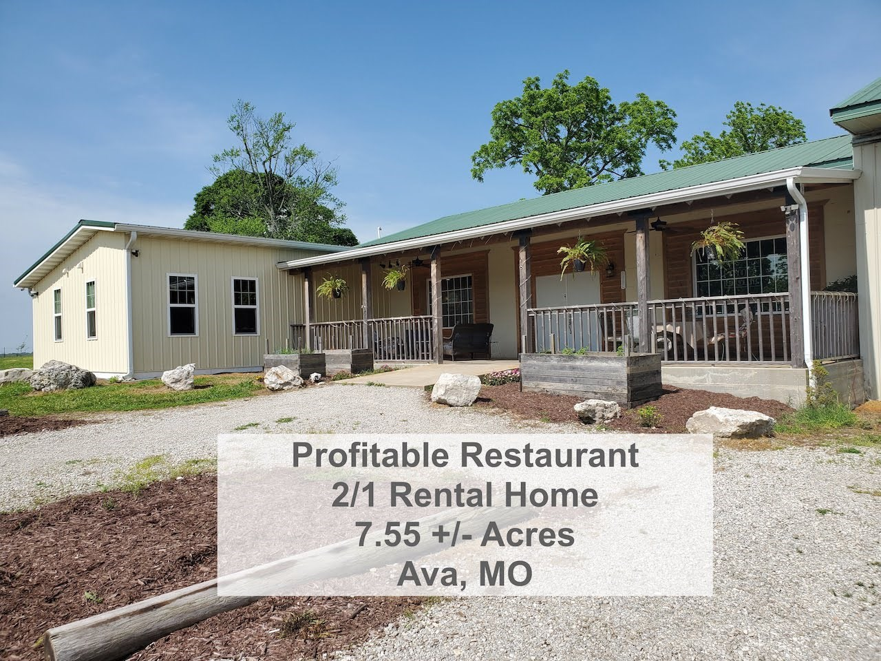 Commercial Buildings for Sale in Southern Missouri