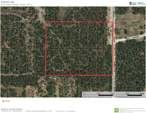 TOM GREEN COUNTY RESIDENTIAL LOTS FOR SALE