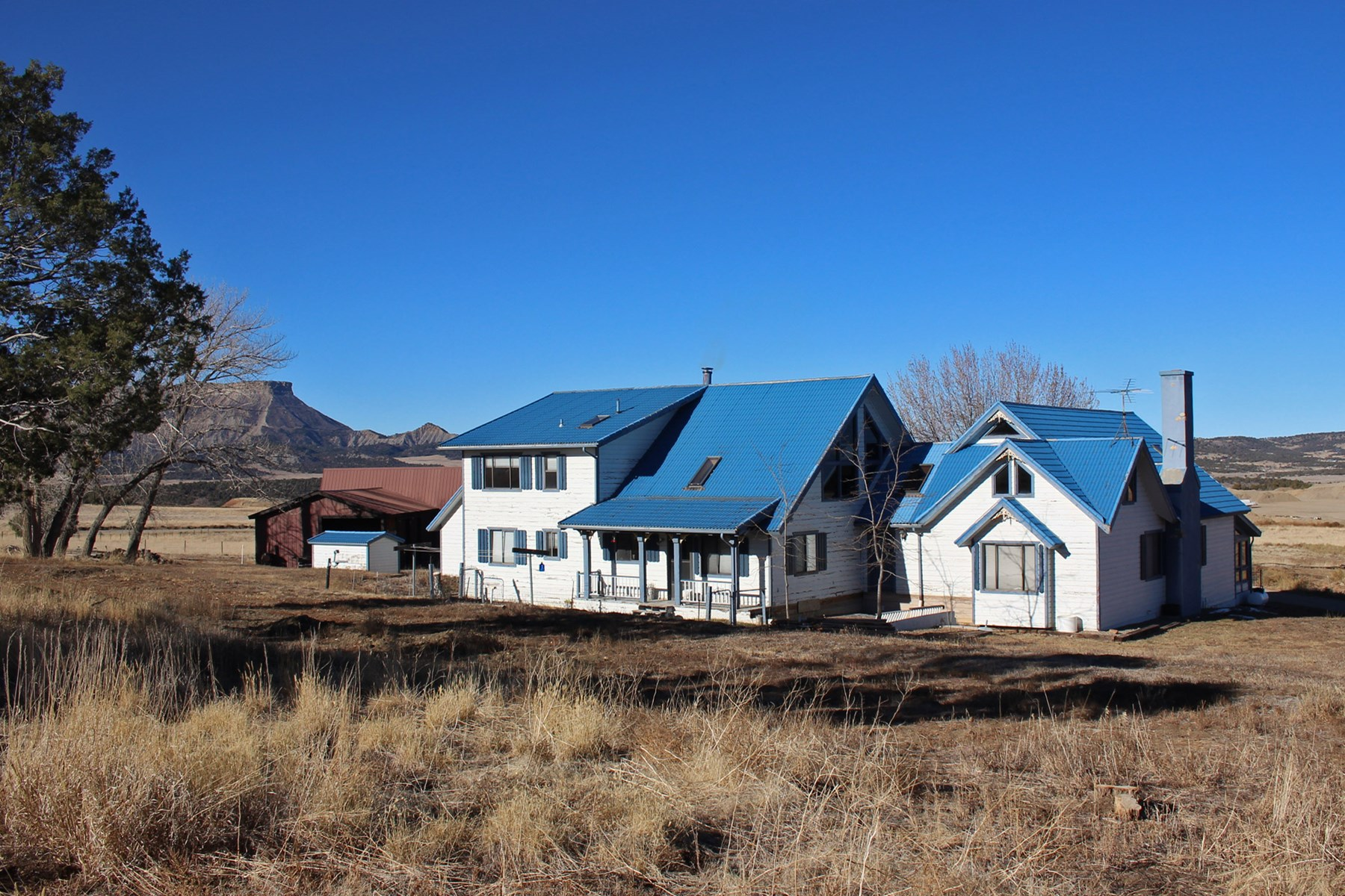 Farm home with guest house on 35 irrigated acres in SW CO.