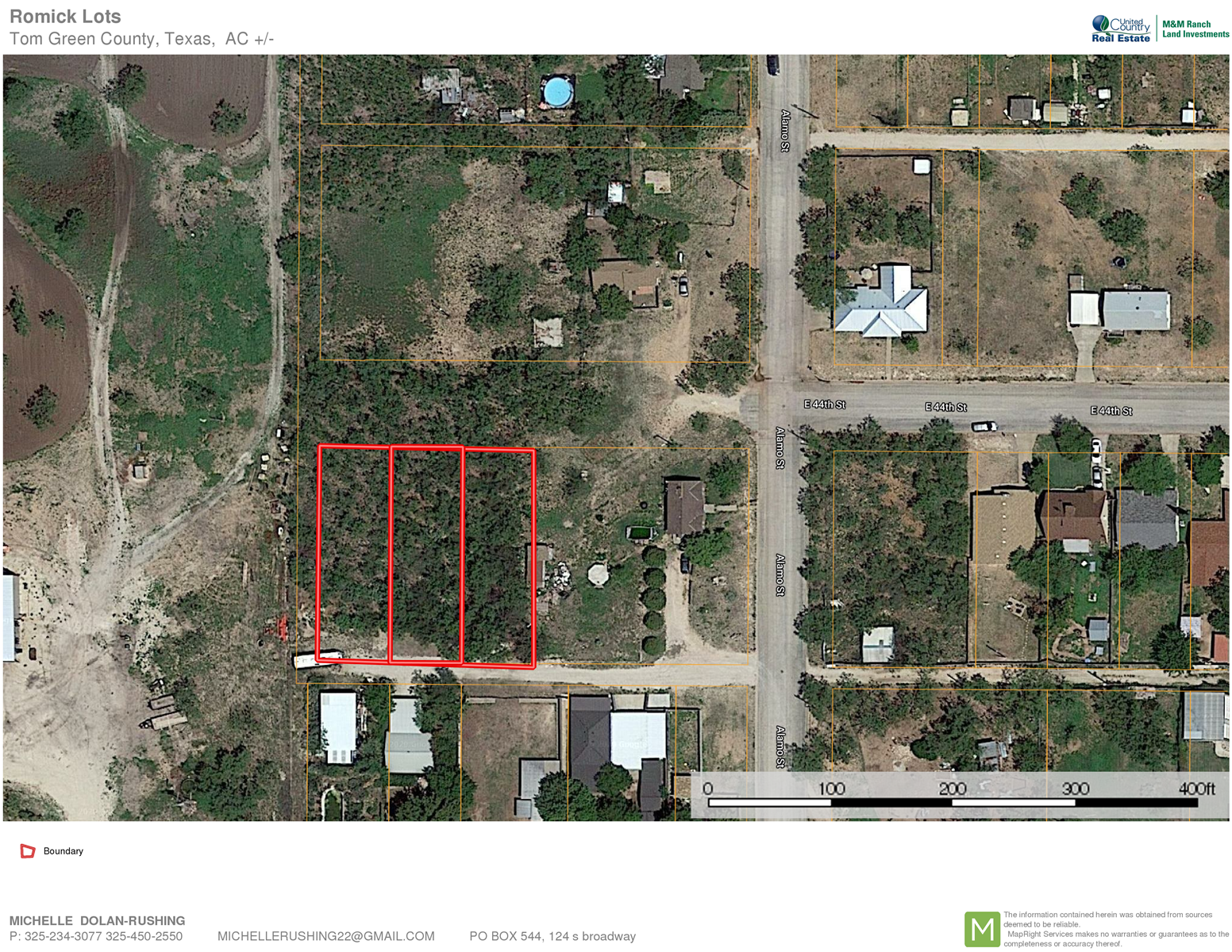 Tom Green County  Residential Land For Sale in City Limits