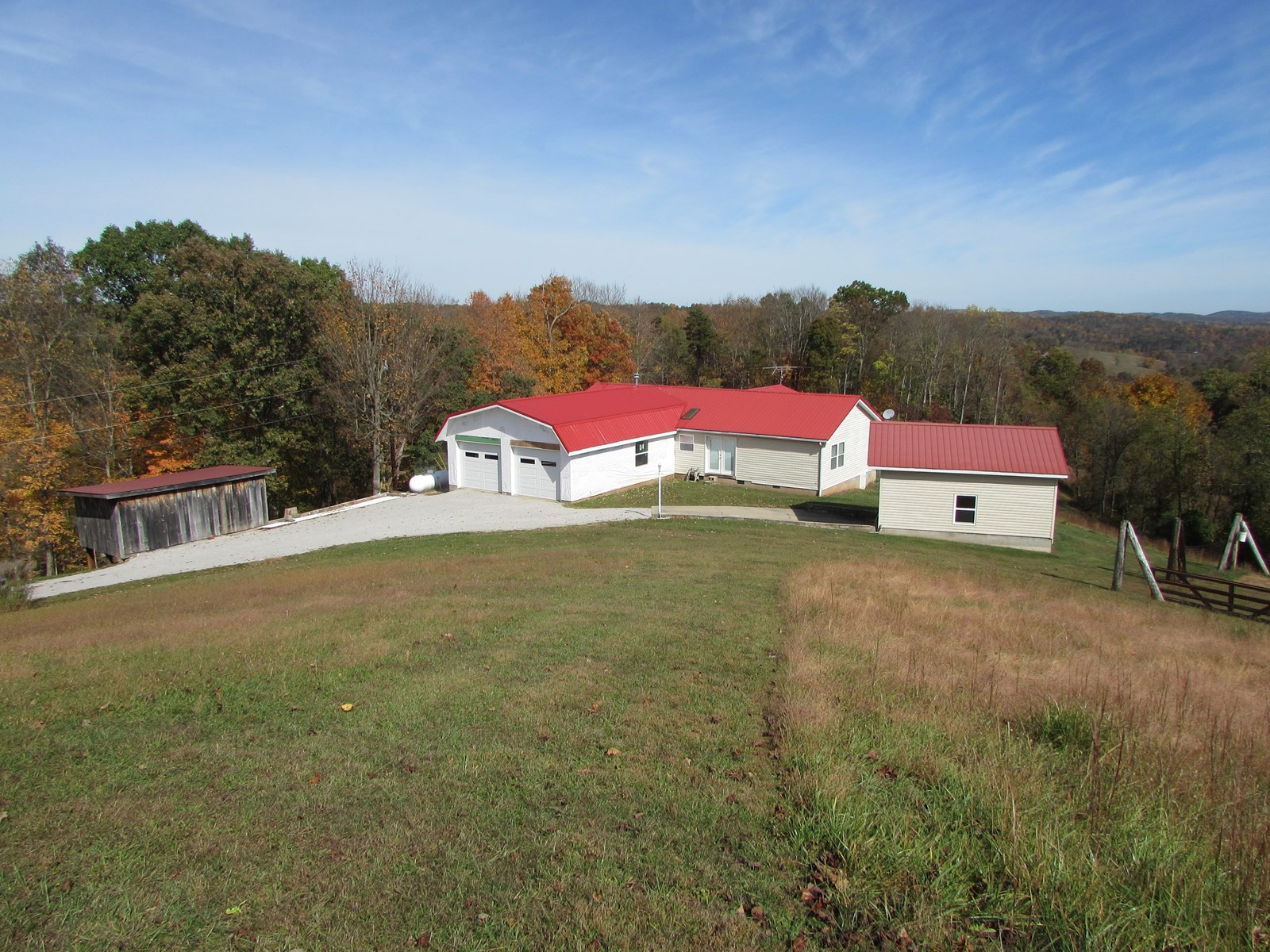 WV COUNTRY HOME WITH 15.50 ACRES