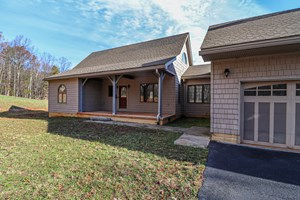 TIMBER FRAME HOME FOR SALE IN WOOLWINE VA