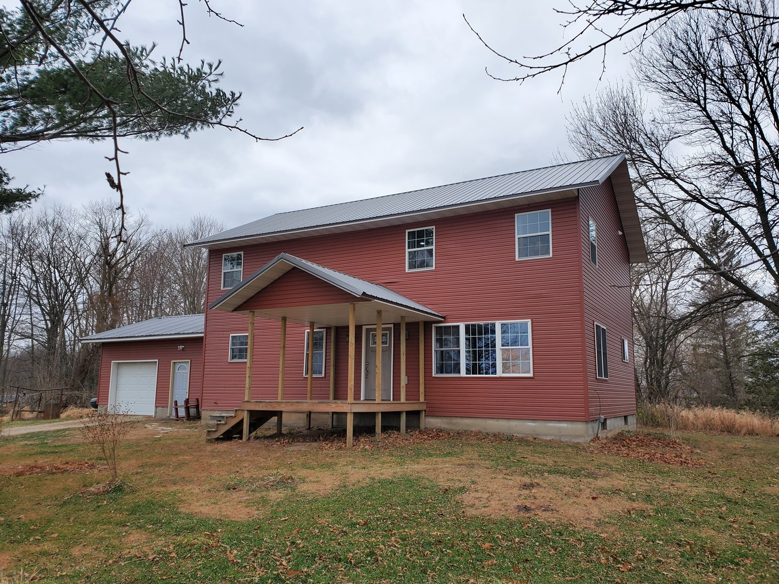 Country Home For Sale in Red Granite, WI