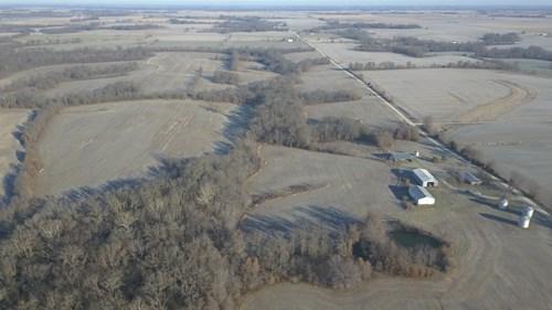 397 AC +/- Tillable Row Crop Farm w/ Hunting | Monroe County