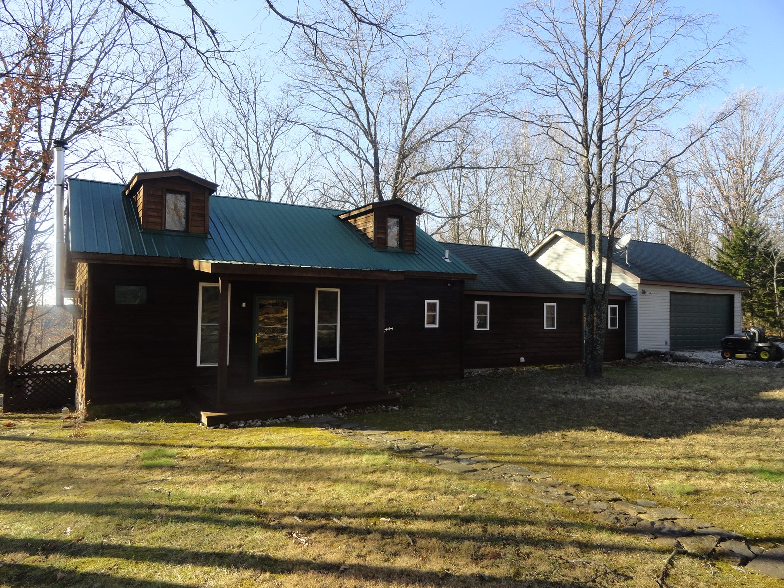 County home for sale on 10 acres