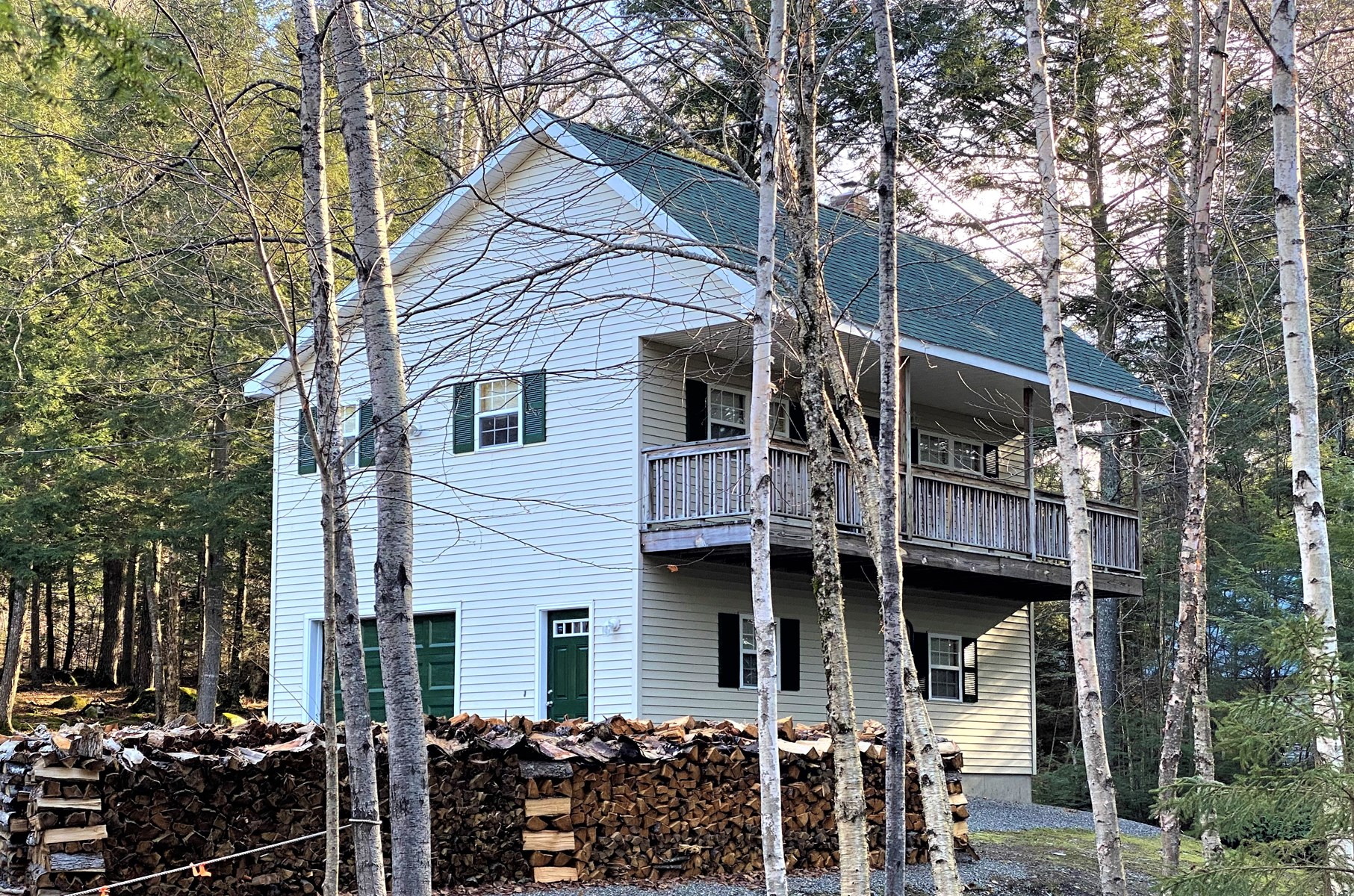 Maine Lakefront Home For Sale