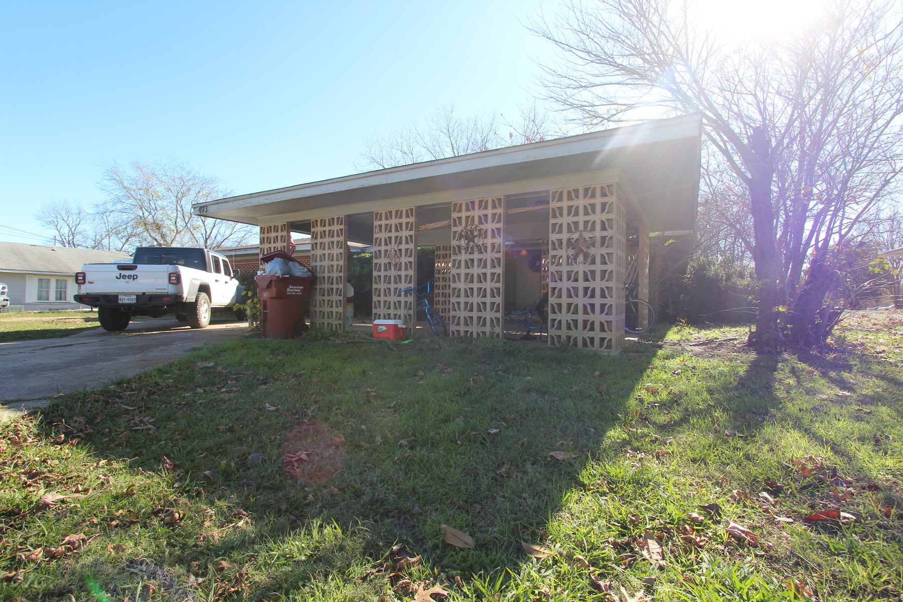 Home In Town For Sale In Deport Texas
