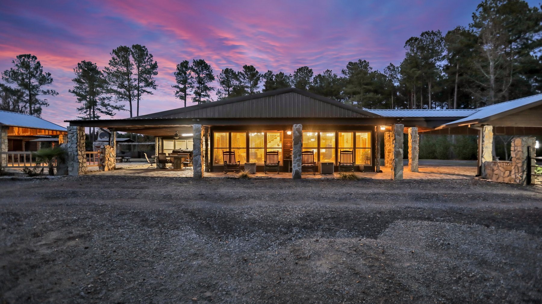 Rock Landing Retreat for Sale in Midville, GA