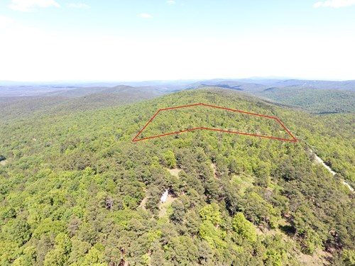 8-Mile Mountain Off-Grid Cabin Site and Mountain/Valley View