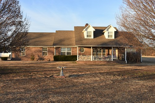 Country Home and Land Oklahoma Hunting-Agricultural Property