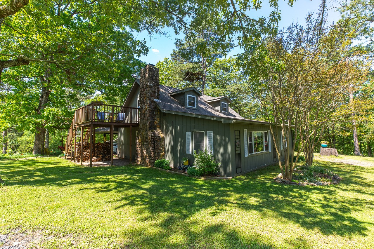 Country Home with Shop near Mtn. Fork River