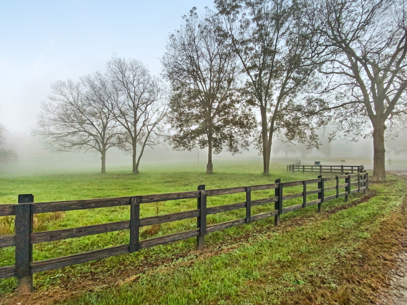 Private Brick Ranch w/ 300 Acre Cattle Farm on Hunting Creek