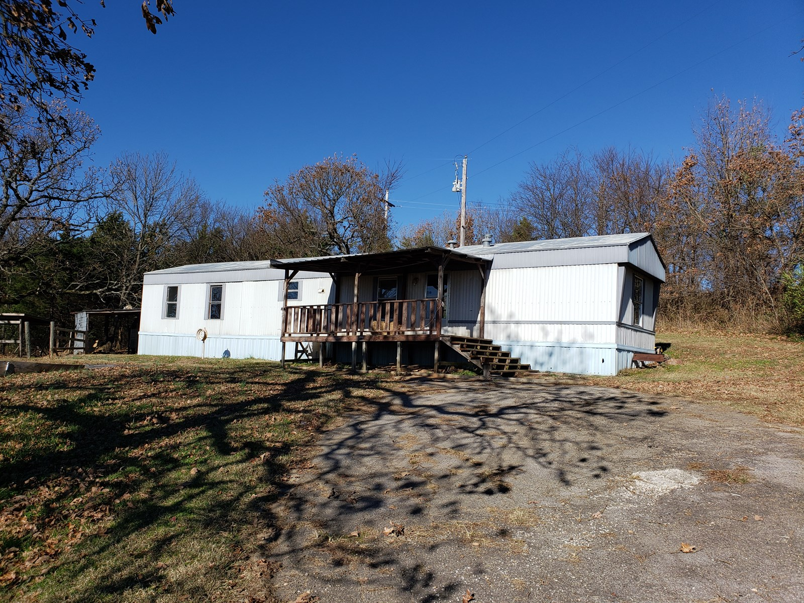 Country Mobile Home and 2.8 Acres for Sale
