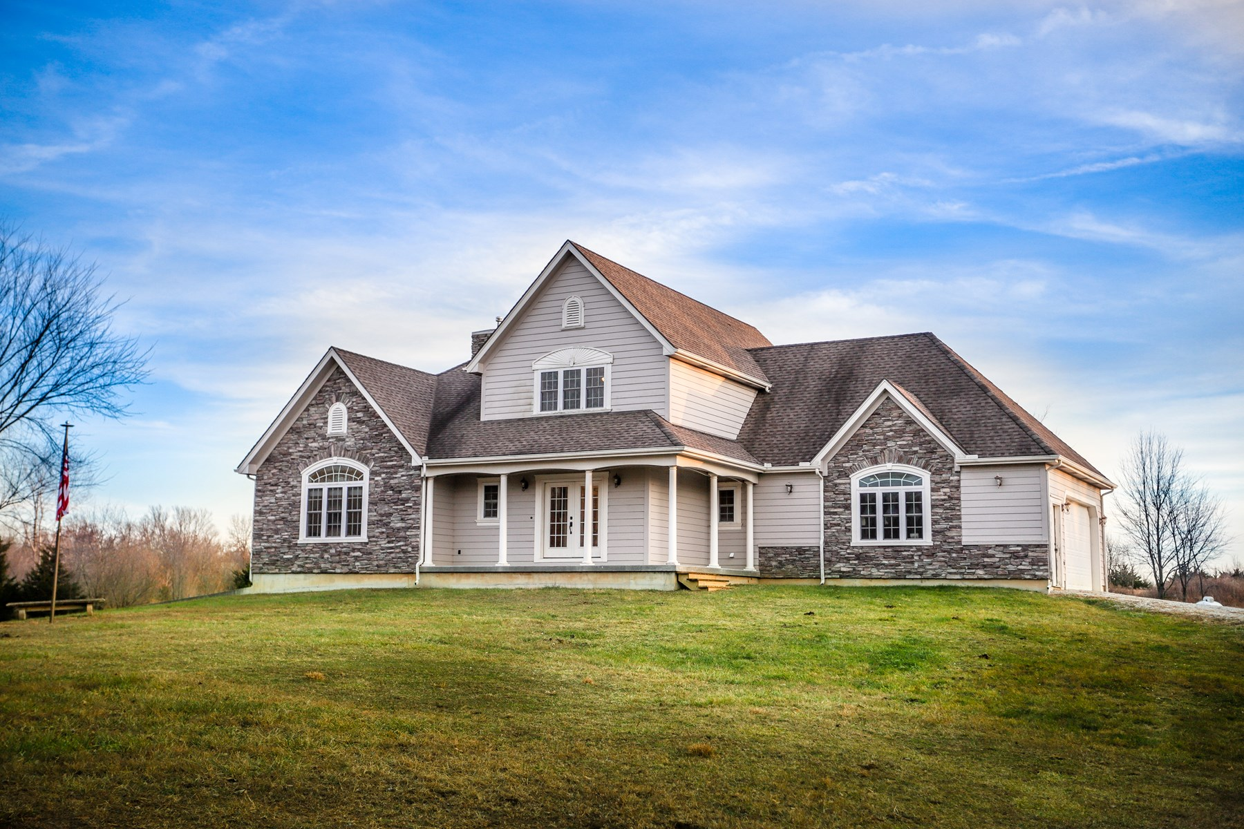 Custom Built Country Home Ready For Your Horses