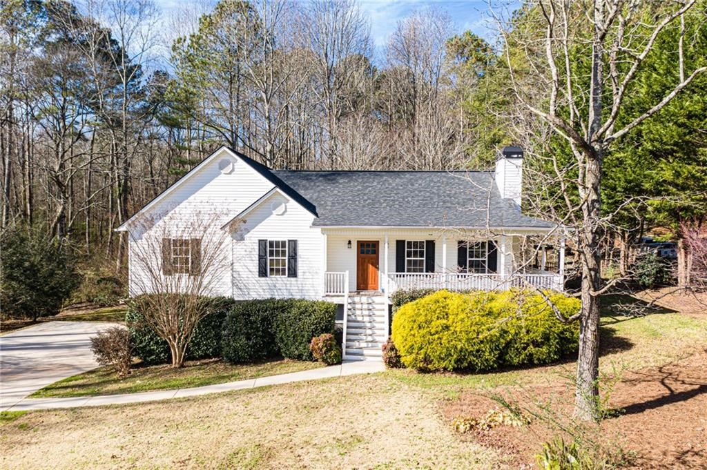 Raised Ranch Home in the North Georgia Mountains