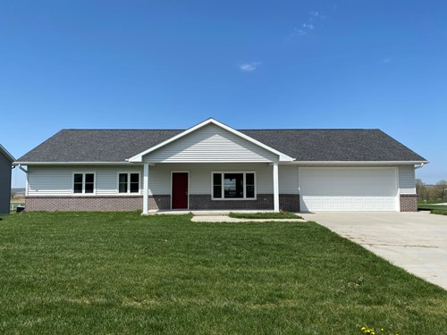 NEW CONSTRUCTION RANCH HOME FOR SALE DUNLAP, HARRISON CTY,IA