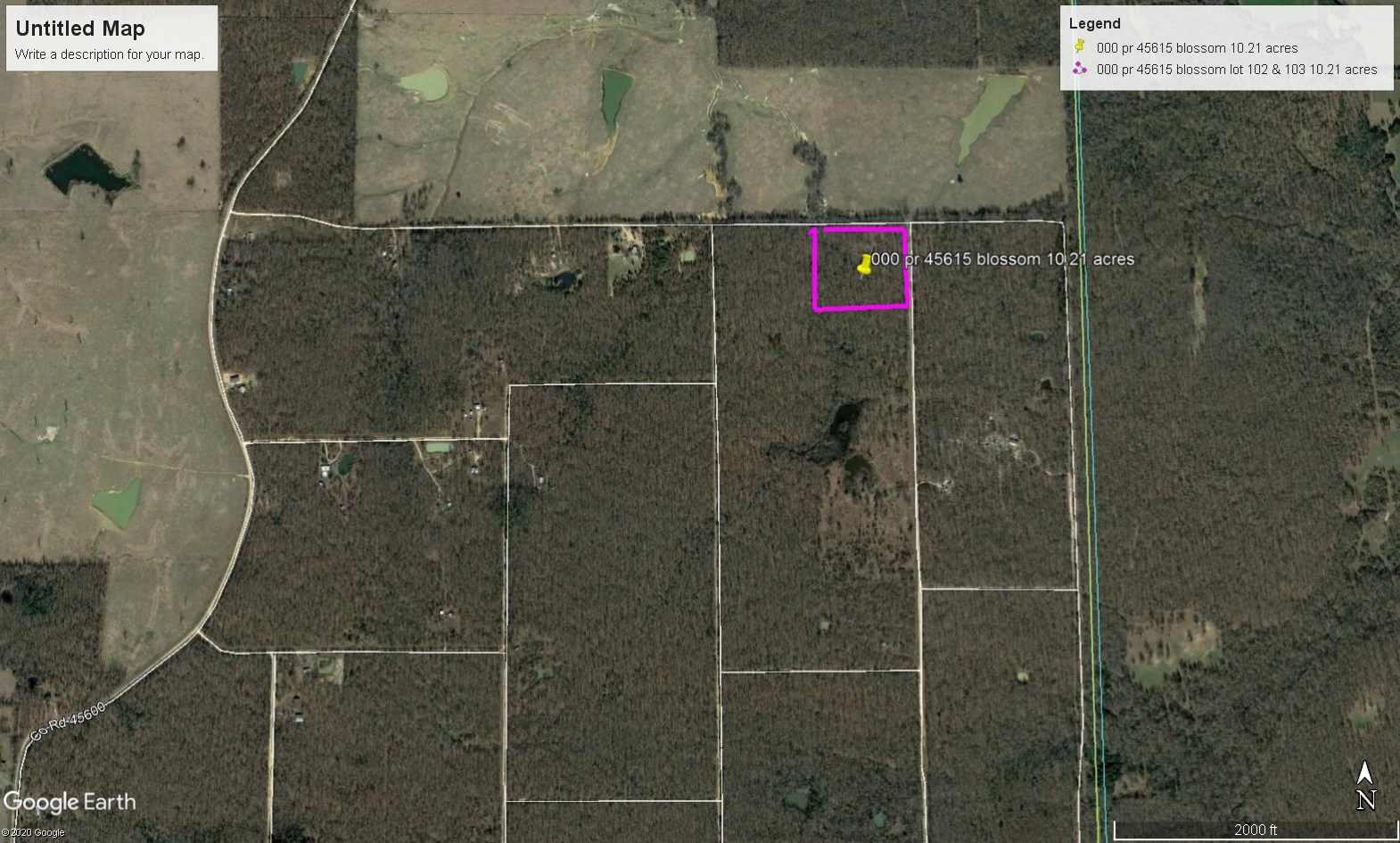 Recreational Land For Sale In Blossom Texas