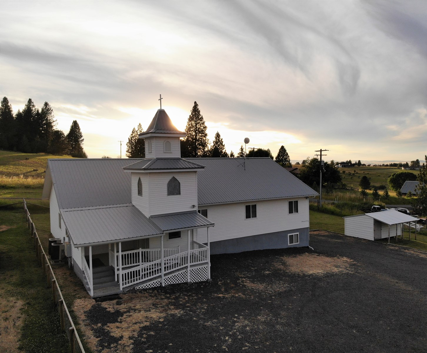 Former Mt. Idaho Baptist Church