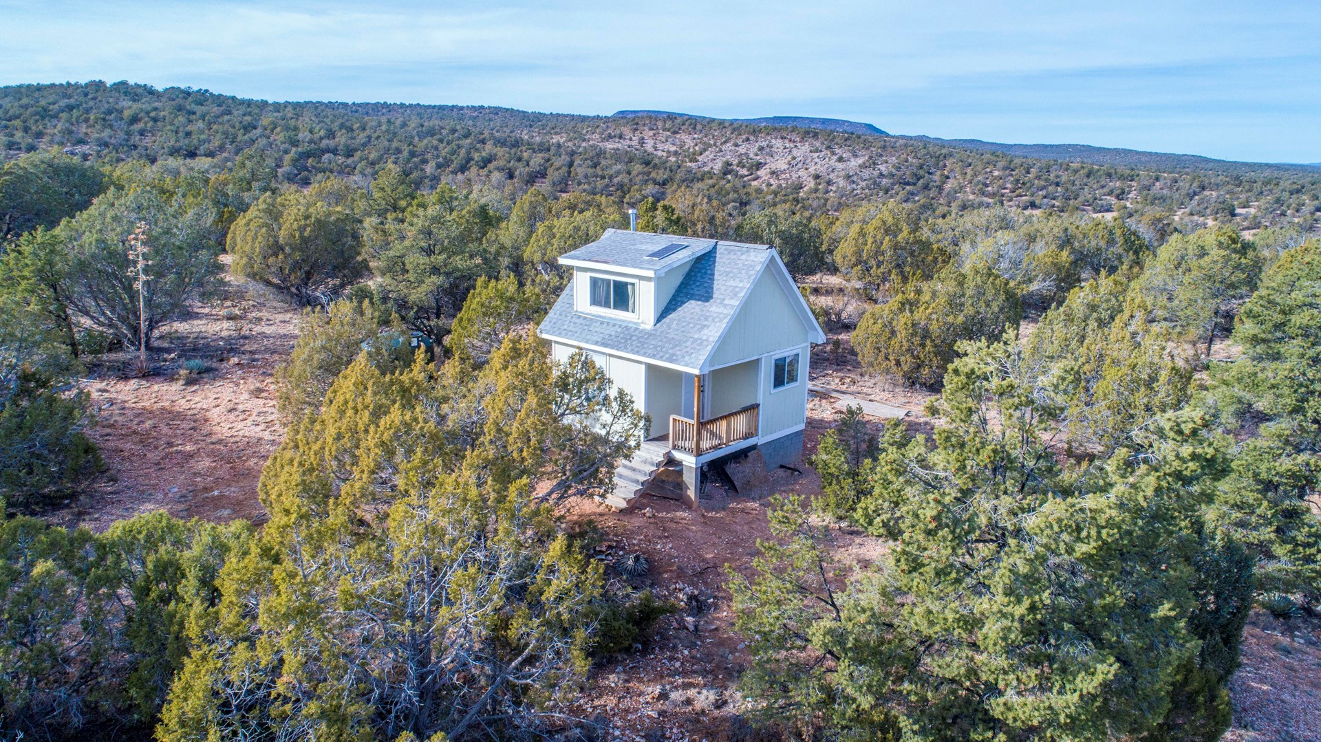Cabin in Woods for Sale, Borders Public Land