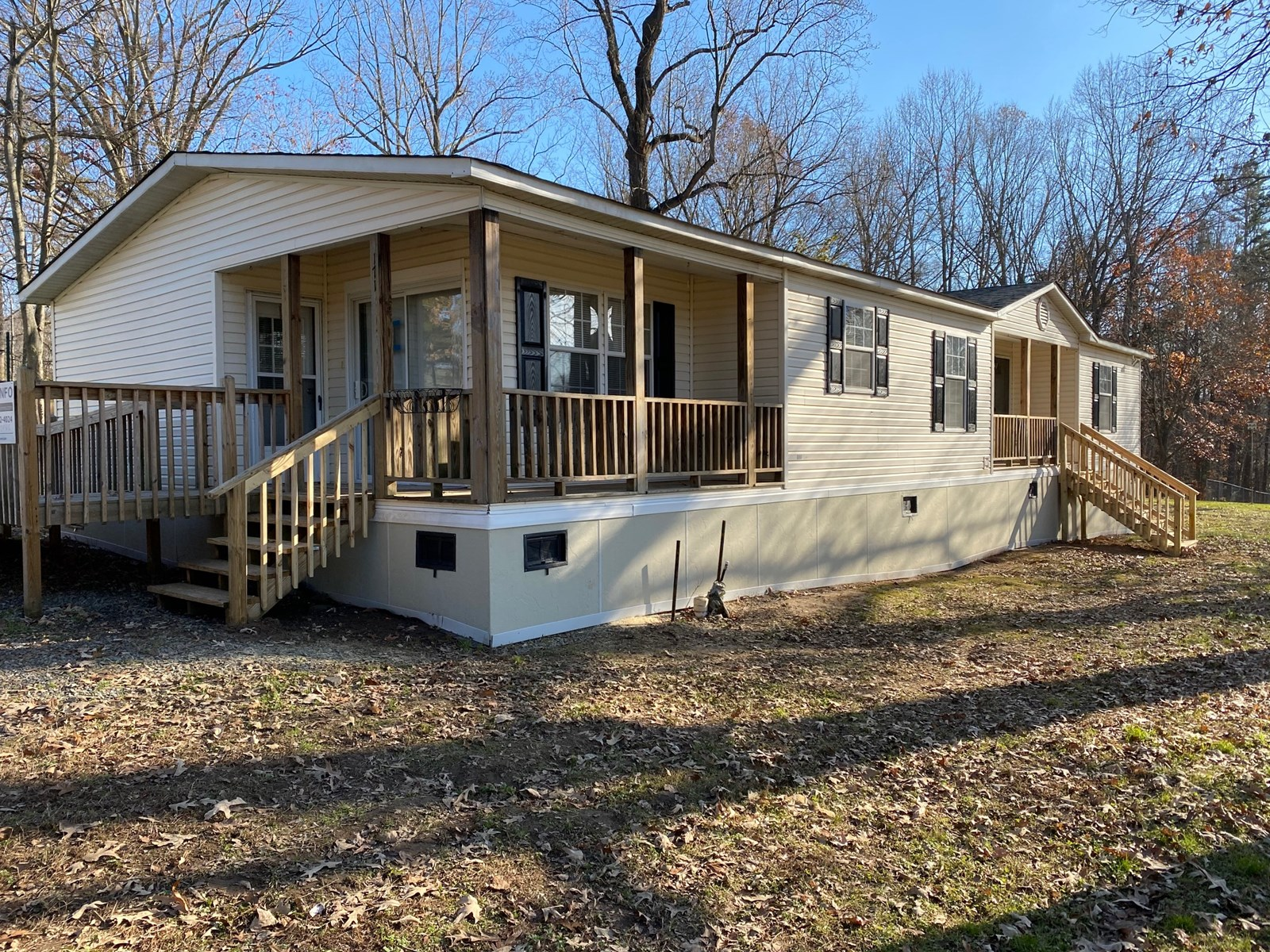 Clayton Manufactured Home with Land