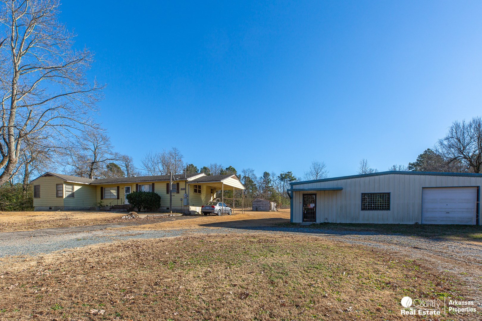 Commercial Building with Home on 2.16 acres
