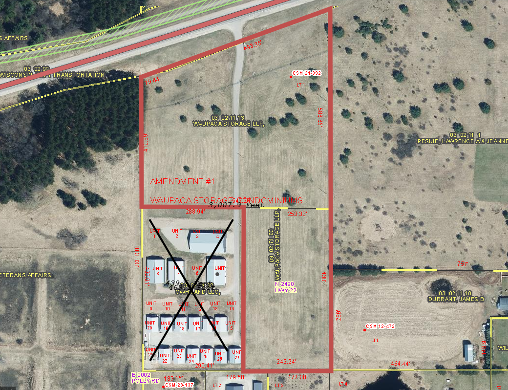 Vacant Land For Sale in Waupaca Co