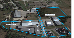 INDUSTRIAL FACILITY ON 12+/- ACRES OUTSIDE HOUSTON, TX