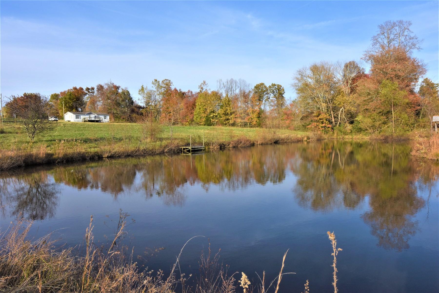 Large Fishing Lake, Fixer Upper Double Wide, Mini Farm