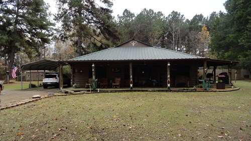 Cherokee County, Rusk, TX log home for sale