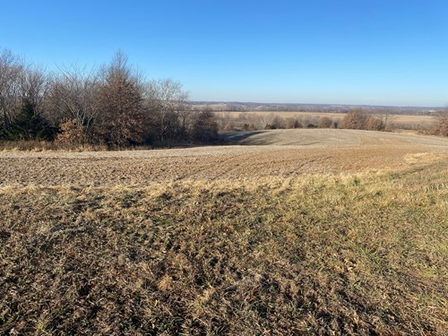 Macon County MO Managed Hunting Land with Tillable Income
