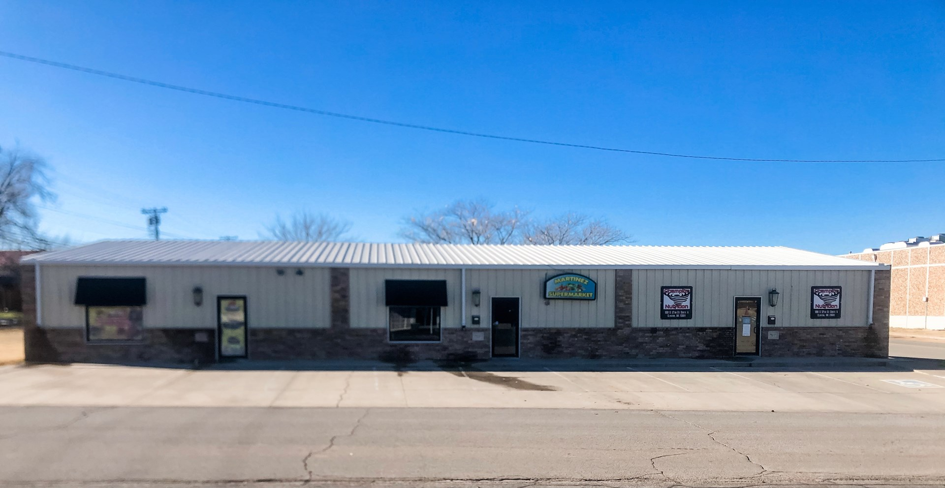 CLINTON, OK. COMMERCIAL PROPERTY FOR SALE, CUSTER COUNTY OK.