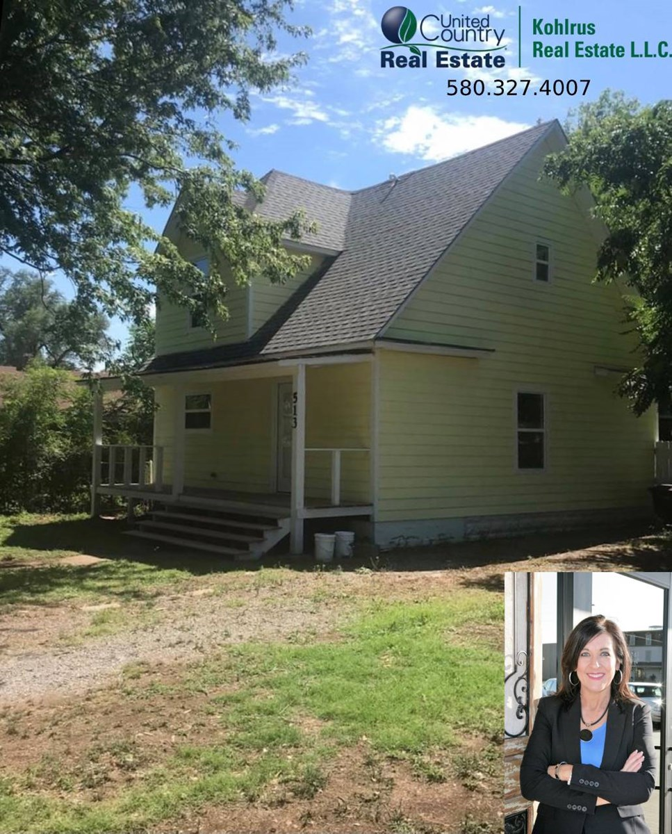 Updated Home in Cherokee, OK
