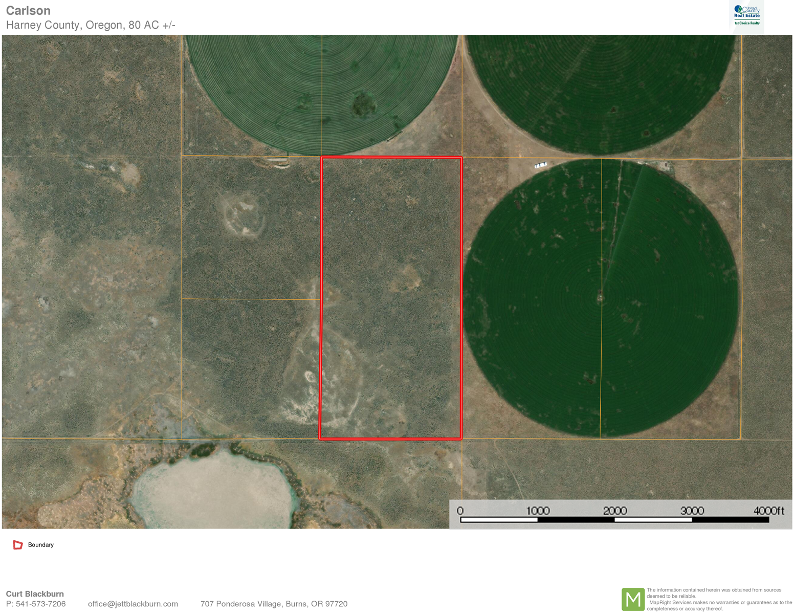 80 ACRES BARELAND FOR SALE EAST OF BURNS OR