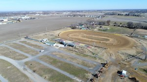 INCOME PRODUCING RACE TRACK ON 21 ACRES IN NEVADA, MO