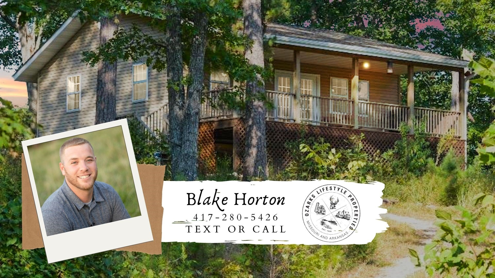 Cabin in The Ozarks For Sale Near National Forest