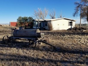 COUNTRY HOME & BARN FOR SALE ON ACREAGE IN SANTA FE COUNTY