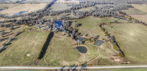 Productive Farm For Sale with Home, Hunting & Multiple Ponds