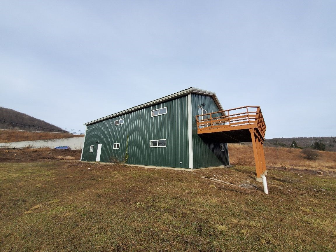 Newly renovated home with 123 open acres