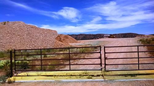 Active gravel quarry on 100 acres in La Plata county, CO