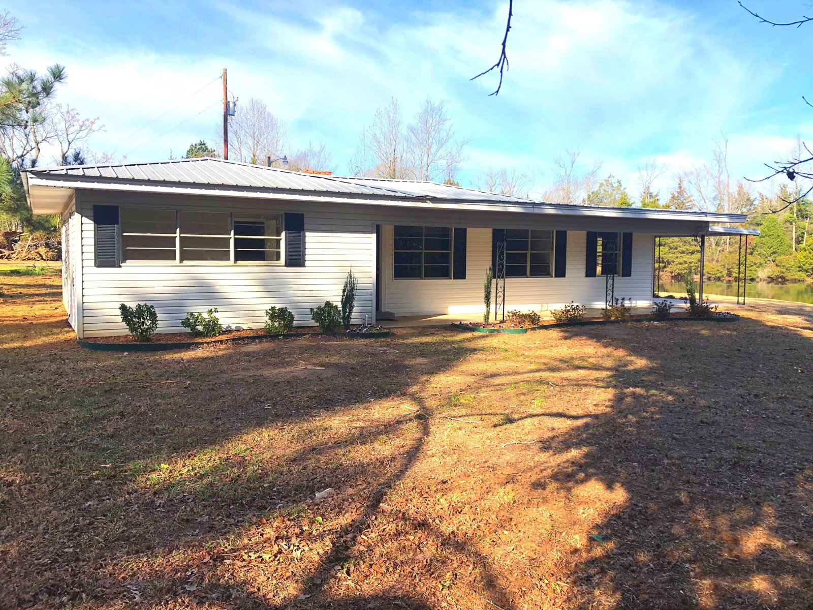 Country Home with lake for sale in Cass County, TX