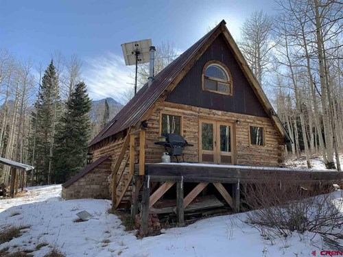 Mountain Property with Stunning Cabin For Sale San Miguel CO
