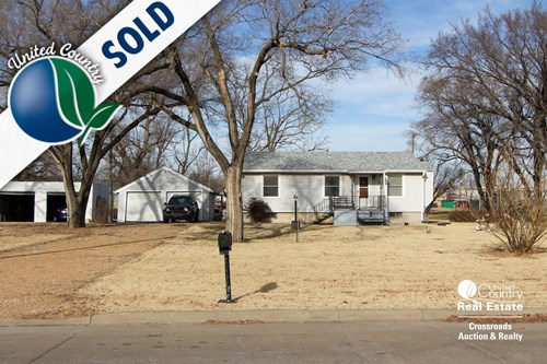 Rental / First Home For Sale by Sealed Bid in Salina Kansas