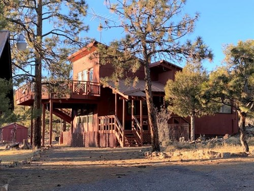 Mountain Home with Views near Chama, NM - 8 plus Acres