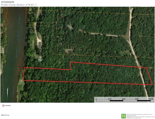 MISSOURI HUNTING, RECREATIONAL RIVER LAND FOR SALE